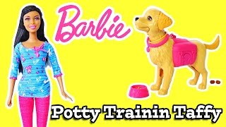 Barbie Potty Tranin Taffy Doll Set Review