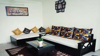 Small Indian Living Room Makeover | Living Room Decoration | Living Room Tour 2019