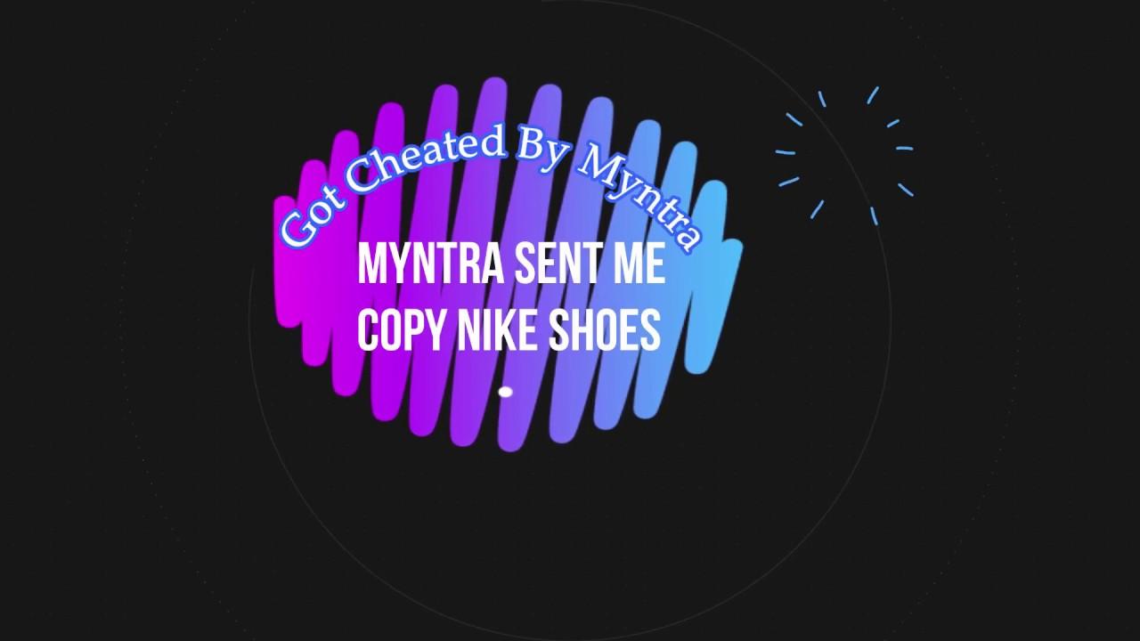 67e9596eb7cd Myntra Sent Me Fake Nike Shoes - Indian Hype - YouTube