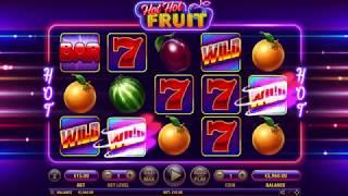ПРОМО ВИДЕО ! Online Slot  Hot Hot Fruit   Habanero