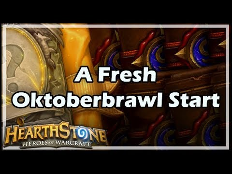 [Hearthstone] A Fresh Oktoberbrawl Start