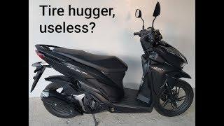 New Honda Click 150i Tire hugger installation and review. Sakit ng Honda Click! Old and New models.