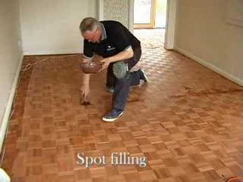 restoring a parquet mosaic wooden floor  YouTube