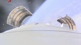 Rocketcam-Aufnahmen vom ersten Sojus-Start in Wostotschny