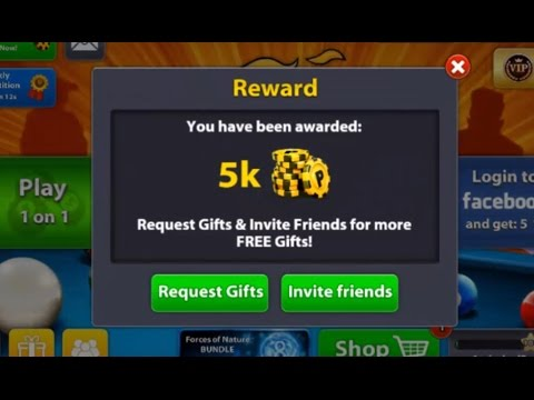 8Ball Pool Unlimited Coins And Dollar Reword Link's 2017 100 % Working
