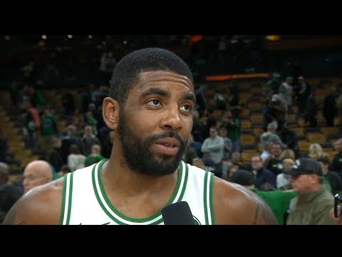 Kyrie Irving Postgame Interview - Raptors vs Celtics | November 16, 2018
