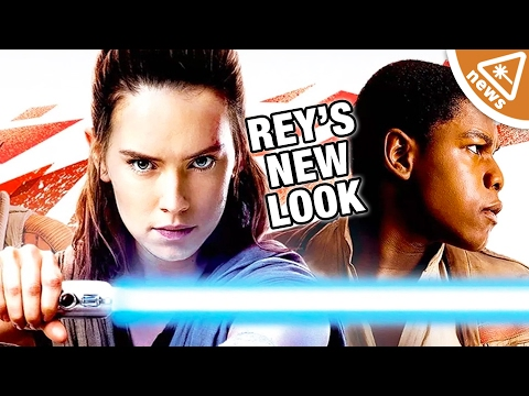 What Rey's New Look Means for Episode 8 The Last Jedi! (Nerdist News w/ Jessica Chobot)