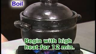 """Alternative Ways To Cook Rice""""Cook in a Clay Pot""""(Cooking Rice The Basics12)"""