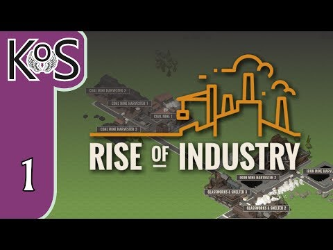 Rise of Industry Ep 1: FARMS, & TRUCKS, & TRAINS! OH MY! - PRESS ALPHA! - Let's Play, Gameplay