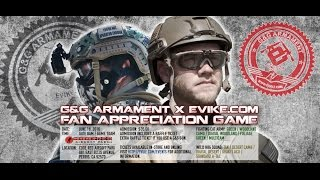 Civil War Evike/G&G Code Red Airsoft park 2016