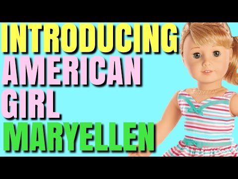 Introducing American Girl MaryEllen Larkin