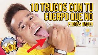 10 Trucos Con Tu Cuerpo Que Seguramente No Podrás Hacer