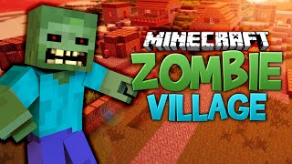 MINECRAFT ZOMBIE VILLAGE ★ Call of Duty Zombies Mod (Zombie Games)