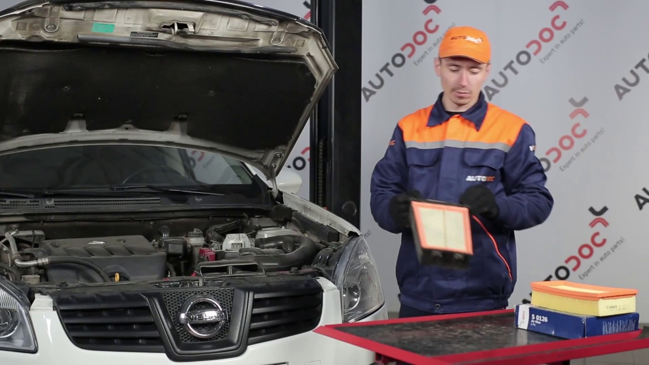 Wie Nissan Qashqai 1 Luftfilter Wechseln Tutorial