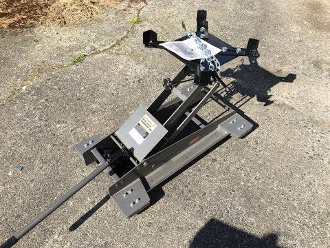 Harbor Freight Transmission Low Lift Jack Review Pittsburgh Automotive 800 LB 69685 , 60234 from YouTube · Duration:  4 minutes 19 seconds