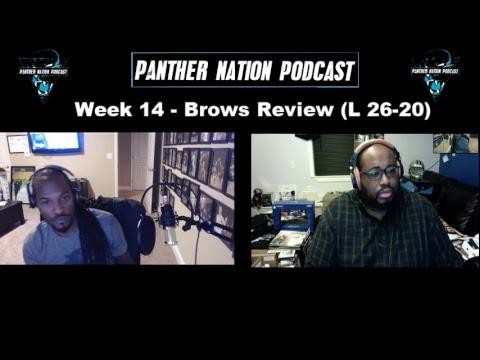 [Carolina Panthers] Week 14 - Browns Review (L 26-20)