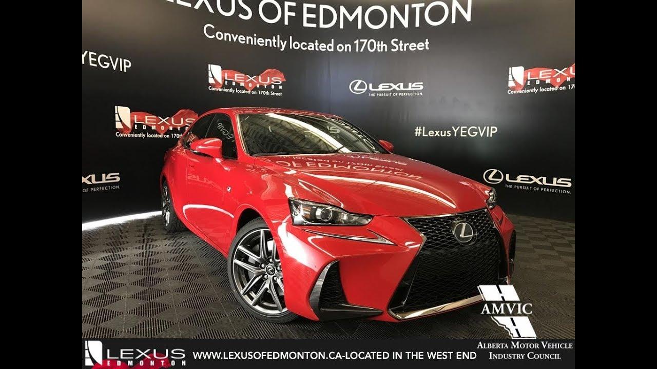 Red 2018 Lexus Is 350 F Sport Series 2 Walkaround Review East