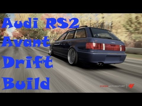 Forza Motorsport 4 | Audi RS2 Avant Drift Build, Tune And Test Drive