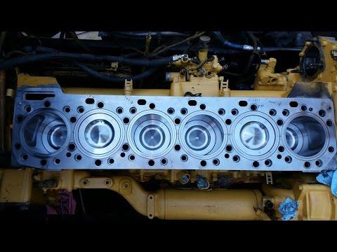 #5. Капитальный ремонт двигателя, Катерпиллер 3406Е / С15. Caterpillar 3406E / C15 Inframe Overhaul.