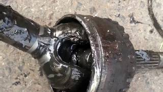 How to fix and change the front couplin in the car.....طريقة اصﻻح وتغيير الكوبلن الامامي في السيارة