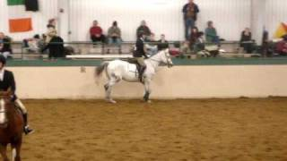 Leigh rides Piper