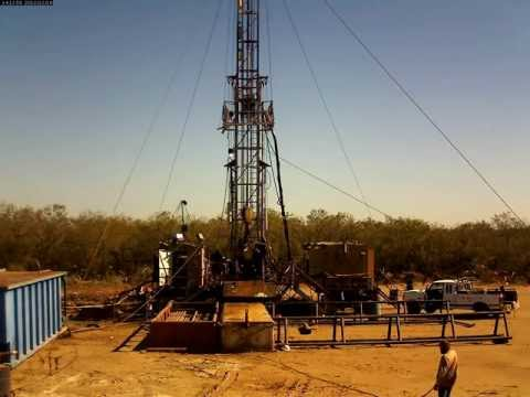 Portable Security on Oil Rig (1600x1200res HD) Time lapse re