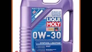Синтетическое моторное масло liqui moly synthoil longtime 0w-30 5л 8977