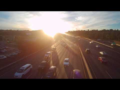 Saturday December 9th 2017 101 freeway at Winnetka w the Typhoon H hexacopter drone
