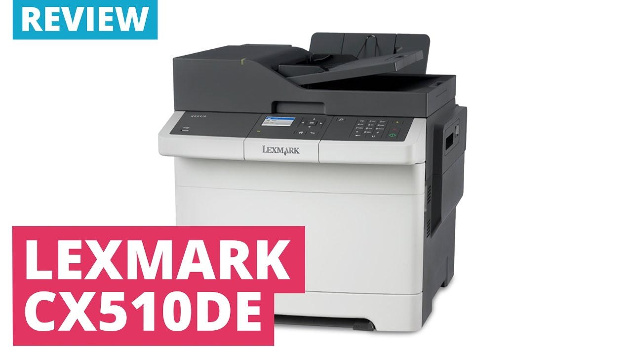 Lexmark CX510de A4 Colour Multifunction Laser Printer