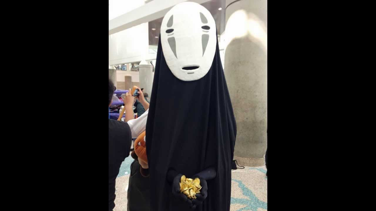 How To Make No Face Mask From Spirited Away Youtube