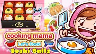 """GAME COOKING MAMA """"SUSHI BALLS"""""""