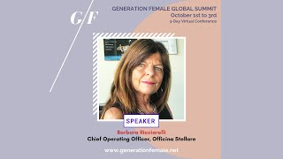 Day 1 Keynote speaker Ace of Aerospace - Barbara Ricciarelli