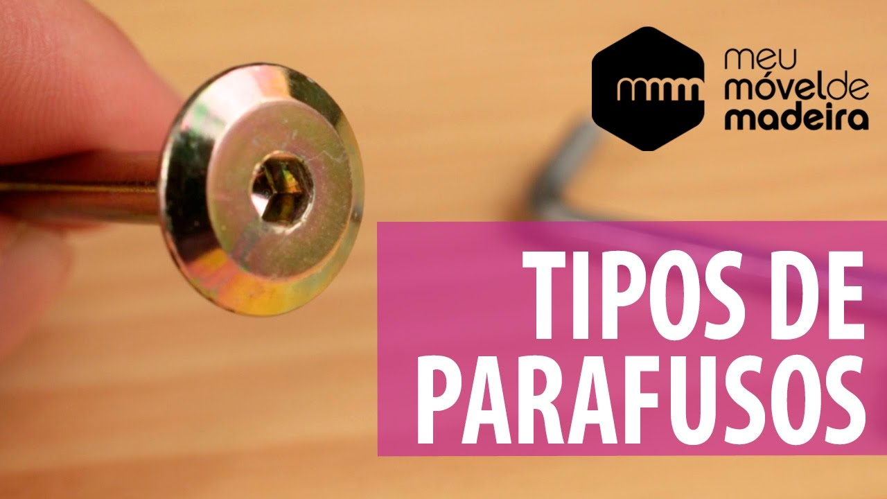 Aprenda os tipos de parafusos youtube for Tipos de estanques para acuicultura