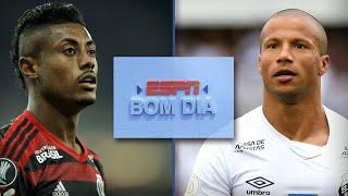 Flamengo x Santos: quem é melhor posição por posição? | ESPN Bom Dia