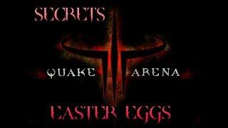 Quake 3 - ВСЕ Пасхалки, Секреты, Фишки и Баги All Secrets, Easter Eggs, Bugs
