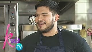 Kris TV: Why Luigi wants to cook?