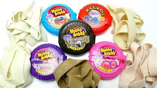 Hubba Bubba Tape Rolls - Bubble Roll Gum Opening