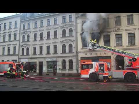 Feuer In Einem Leerstehenden Haus 30.12.2018 In Leipzig Gohlis