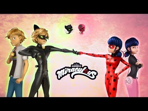 Miraculous LadyBug Speededit: LadyBug & Chat Noir [Adrien & Marinette]