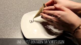 Sweet Art Basics #2 Tütchen + Spritzschokolade