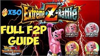FULL PHY KID BUU EZA F2P GUIDE & MISSION TRANSLATIONS: DBZ Dokkan Battle