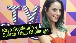 CH Entrevista: Kaya Scodelario, Teresa 'falsiane' e Scorch Trials Challenge