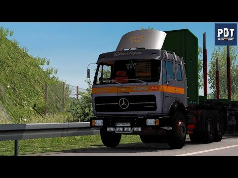 Mercedes Benz 1632 NG by Ekualizer + FIX [1 35 x]   ETS2