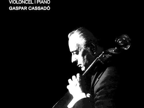 Gaspar Cassadó - Integral Per Violoncel i Piano - Rapsodia Del Sur