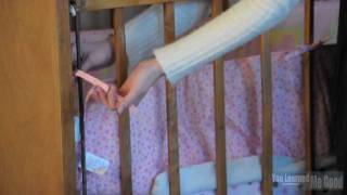 How To Install A Bumper Pad On A Crib
