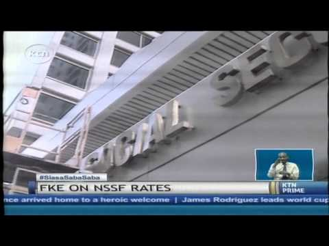 The Federation of Kenya Employers on NSSF rates