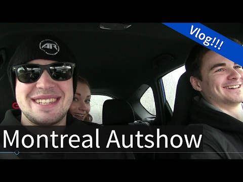 Montreal Autoshow: Vlog - Why I don't Stream more often?