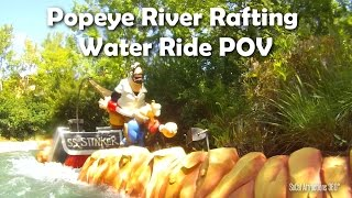 [HD] Popeye Water Ride - Popeye and Bluto