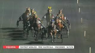 Vidéo de la course PMU PRIX VULPECULA