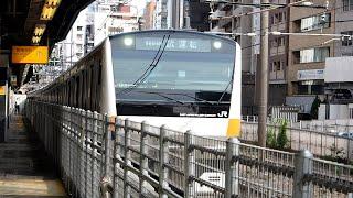 2020/06/29 【試運転】 E233系 T71編成 渋谷駅 & 新宿駅 | JR East: Test Run of E233 Series T71 Set